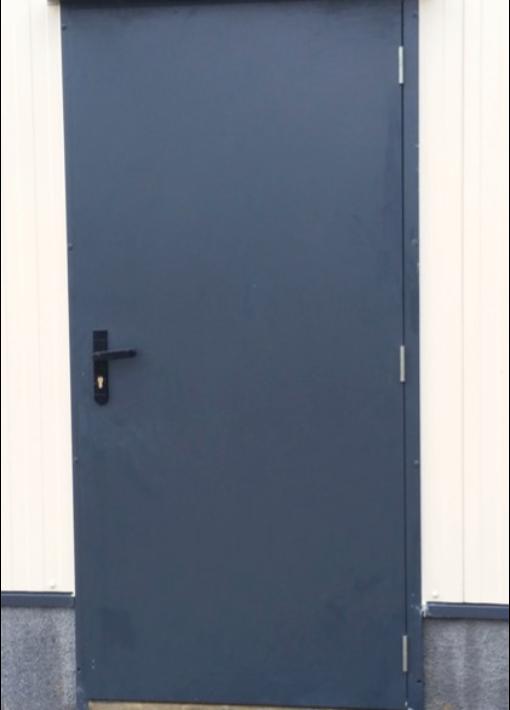 Porte bâtiment industriel