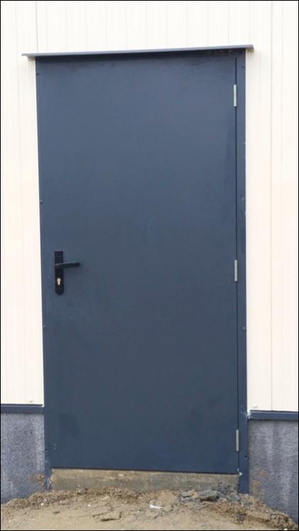 Porte De Batiment Industriel