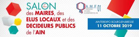 Adeos au salon des Maires et des collectivités de l'Ain