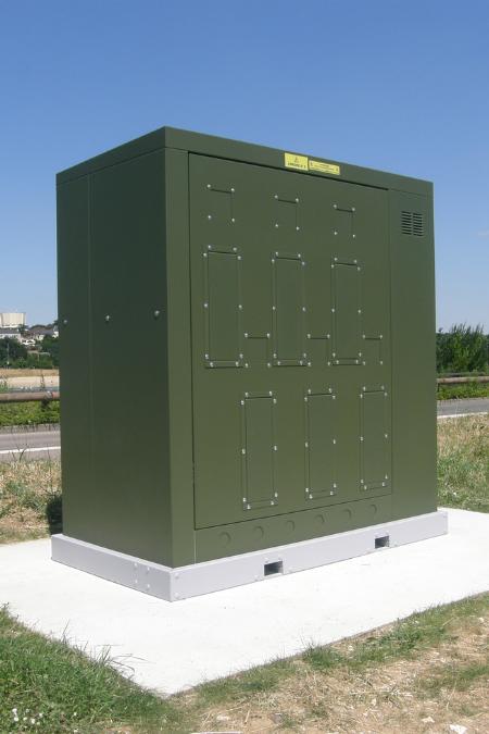 Armoire électrique sécurisée pour branchements provisoires