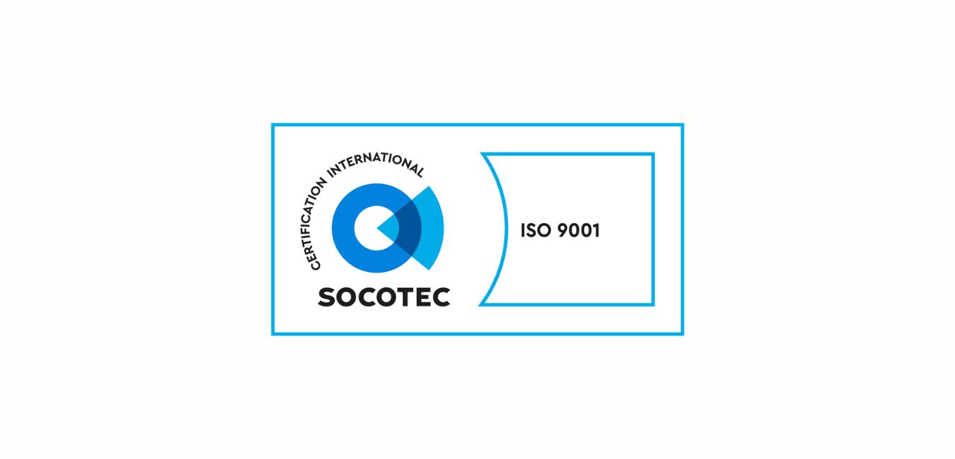 ADEOS certifié ISO 9001-2015 par la SOCOTEC